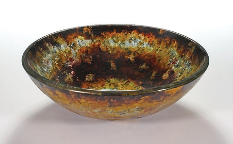 TEMPER GLASS VESSEL SINK ZA-172