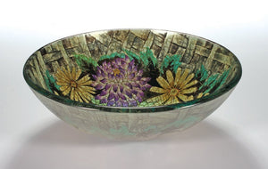 TEMPER GLASS VESSEL SINK ZA-182