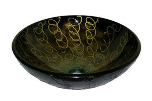 TEMPER GLASS VESSEL SINK ZA-183-1
