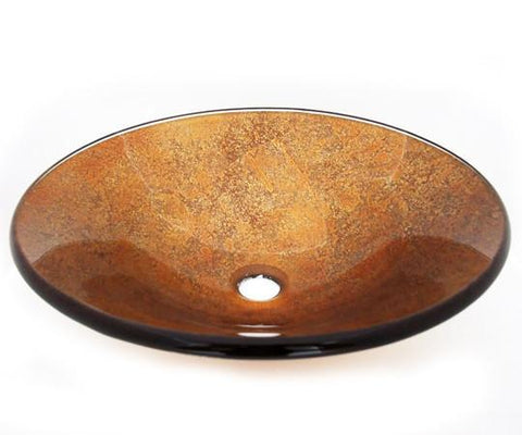 TEMPER GLASS VESSEL SINK ZA-183
