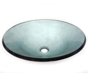 TEMPER GLASS VESSEL SINK ZA-188