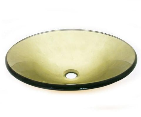 TEMPER GLASS VESSEL SINK ZA-189