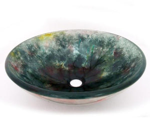 TEMPER GLASS VESSEL SINK ZA-198