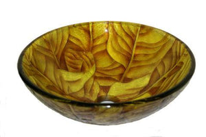 TEMPER GLASS VESSEL SINK ZA-203