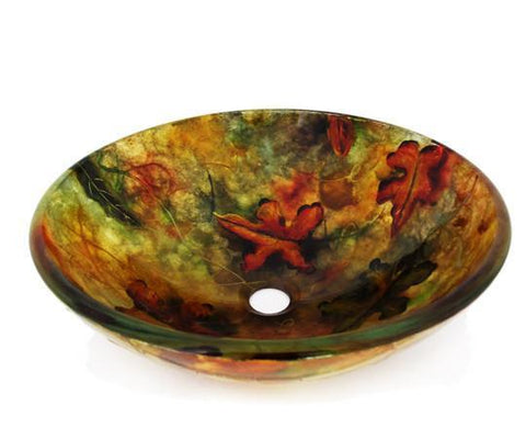 TEMPER GLASS VESSEL SINK ZA-214