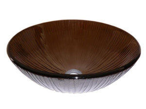 TEMPER GLASS VESSEL SINK ZA-24T