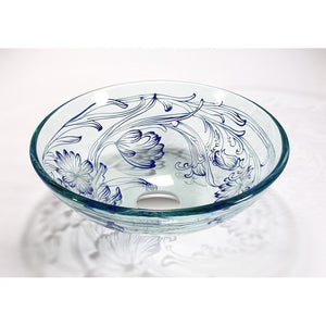 TEMPER GLASS VESSEL SINK ZA-256
