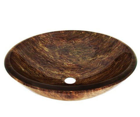 TEMPER GLASS VESSEL SINK ZA-59