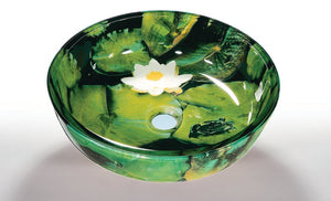 TEMPER GLASS VESSEL SINK ZA-62