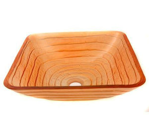 TEMPER GLASS VESSEL SINK ZA-86G
