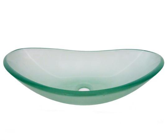 TEMPER GLASS VESSEL SINK ZB-3