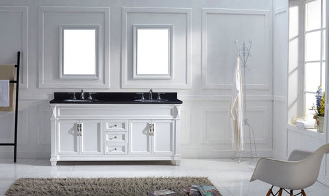 "Image of Victoria 72"" Double Bathroom Vanity"
