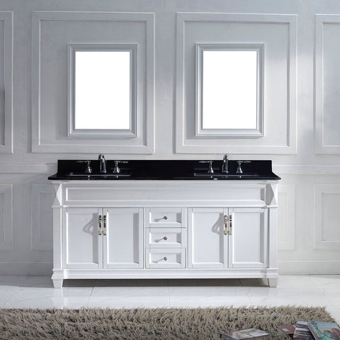 "Victoria 72"" Double Bathroom Vanity MD-2672-BGRO-ES"