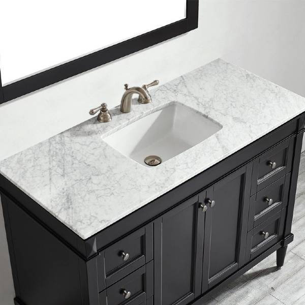 "Vinnova Catania 48"" Contemporary Espresso Single Sink Vanity Set 715048-ES-CA 715048-ES-CA"