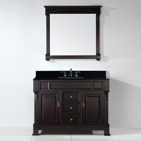 "Virtu USA Huntshire 48"" Single Bathroom Vanity GS-4048-BGRO-DW"