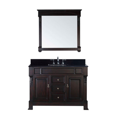 "Virtu USA Huntshire 48"" Single Bathroom Vanity GS-4048-BGSQ-DW"