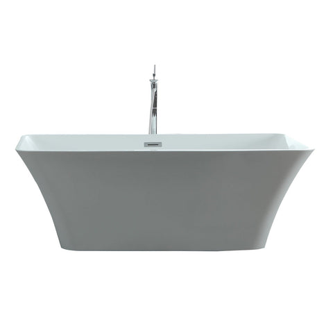 "Virtu USA Serenity 59"" x 29.52"" Freestanding Soaking Bathtub VTU-3059"