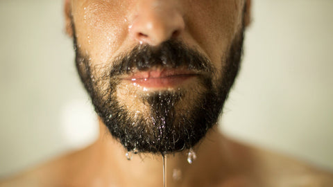 beard shower