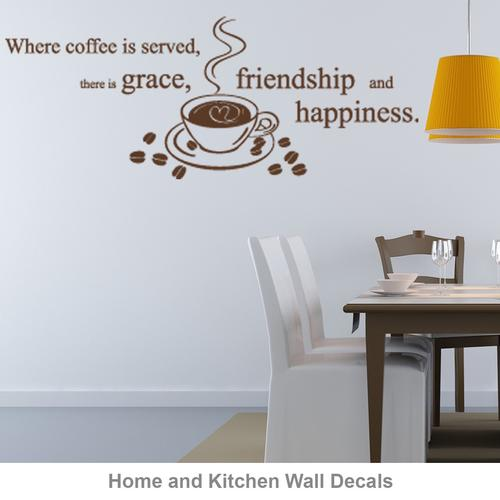 Wall decals wall decor stickers wall decals for kids murals coffee wall decals teraionfo