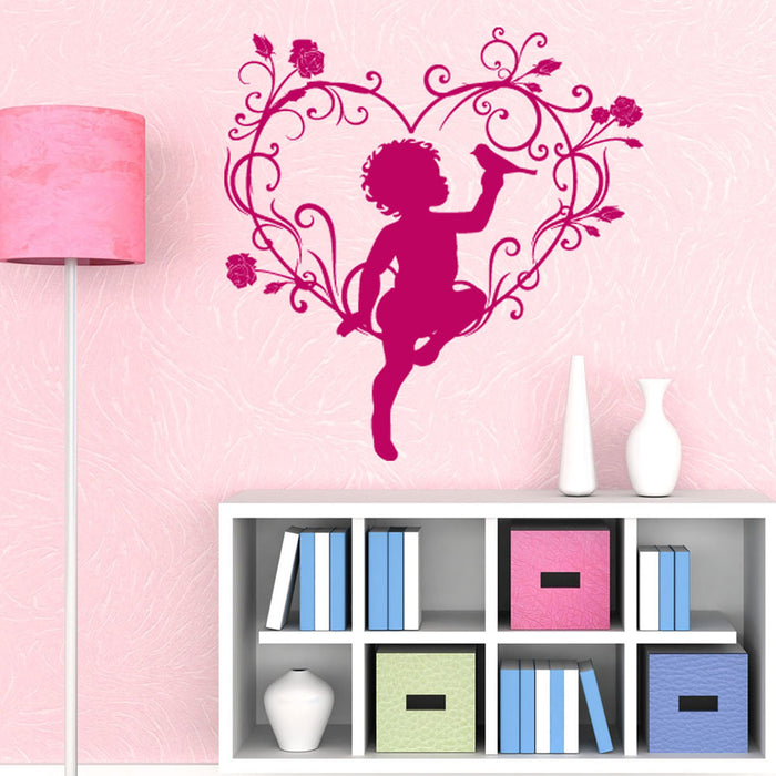 Love Angel Wall Decal