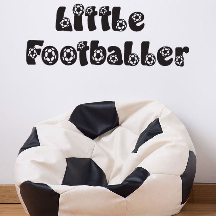 Little Footballer Decal