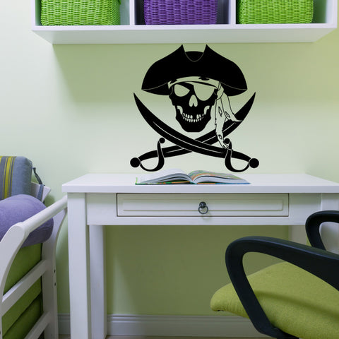 Pirate Wall Decal For Kids