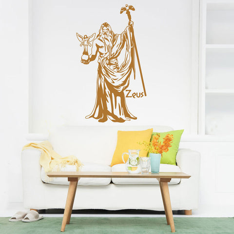 Zeus Wall Decal