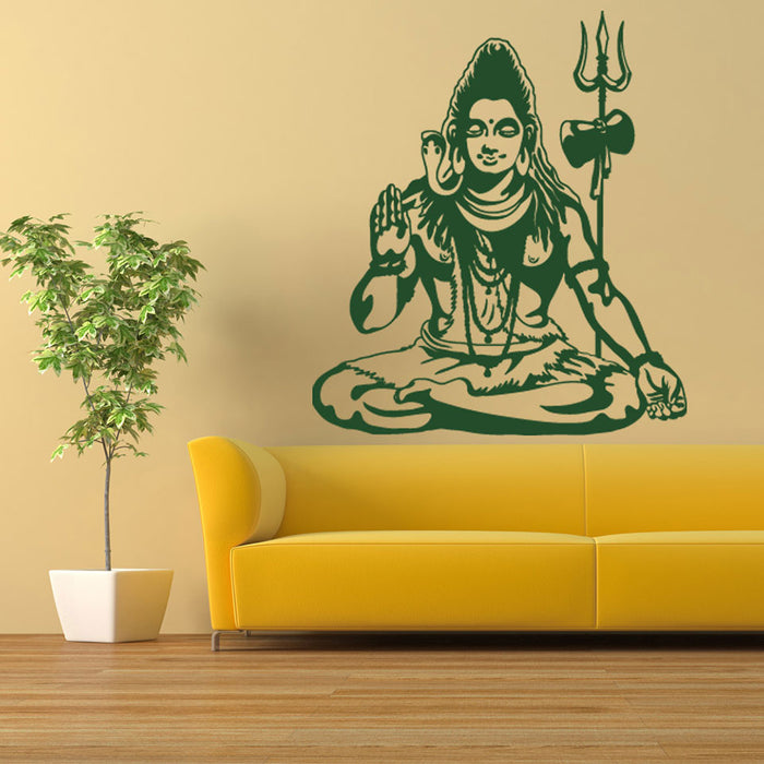 Shiva Wall Decal
