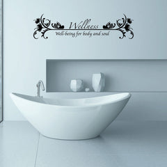 Wellness Wall Decal
