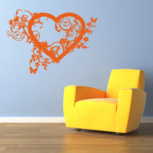 Spring Love-Wall Decals-Style and Apply