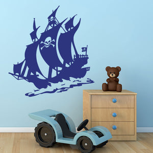 Pirate of the Sea-Wall Decals-Style and Apply
