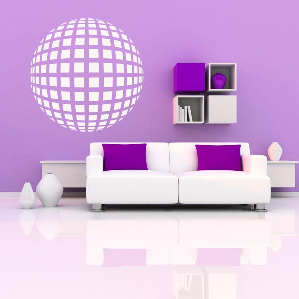Retro Bowl-Wall Decal