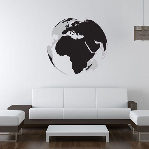 3D Earth Sticker