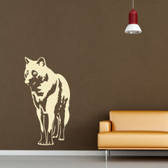 Wolf-Wall Decals-Style and Apply