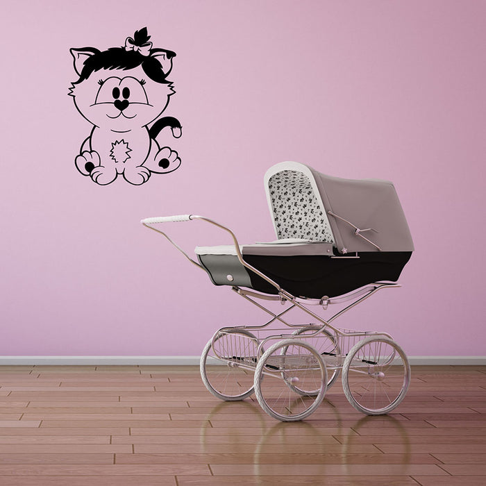 Baby Cat Wall Decal