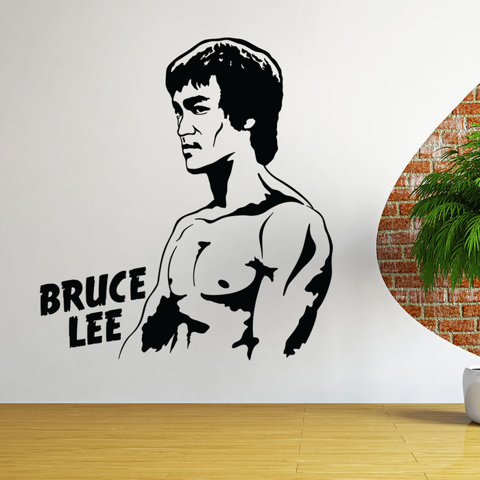 Bruce Lee Wall Decal