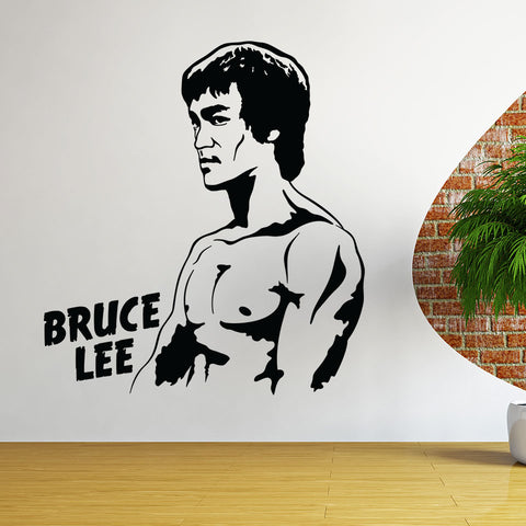 Bruce Lee-Wall Decal