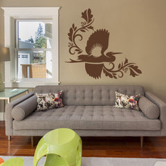 Crane-Wall Decal