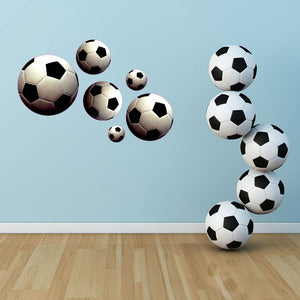 Soccer Balls-Wall Decal Stickers