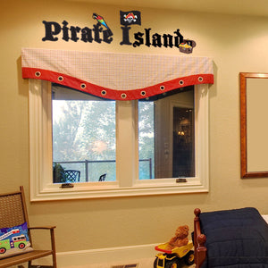 Pirate Island Wall Sticker-Wall Decal Stickers-Style and Apply