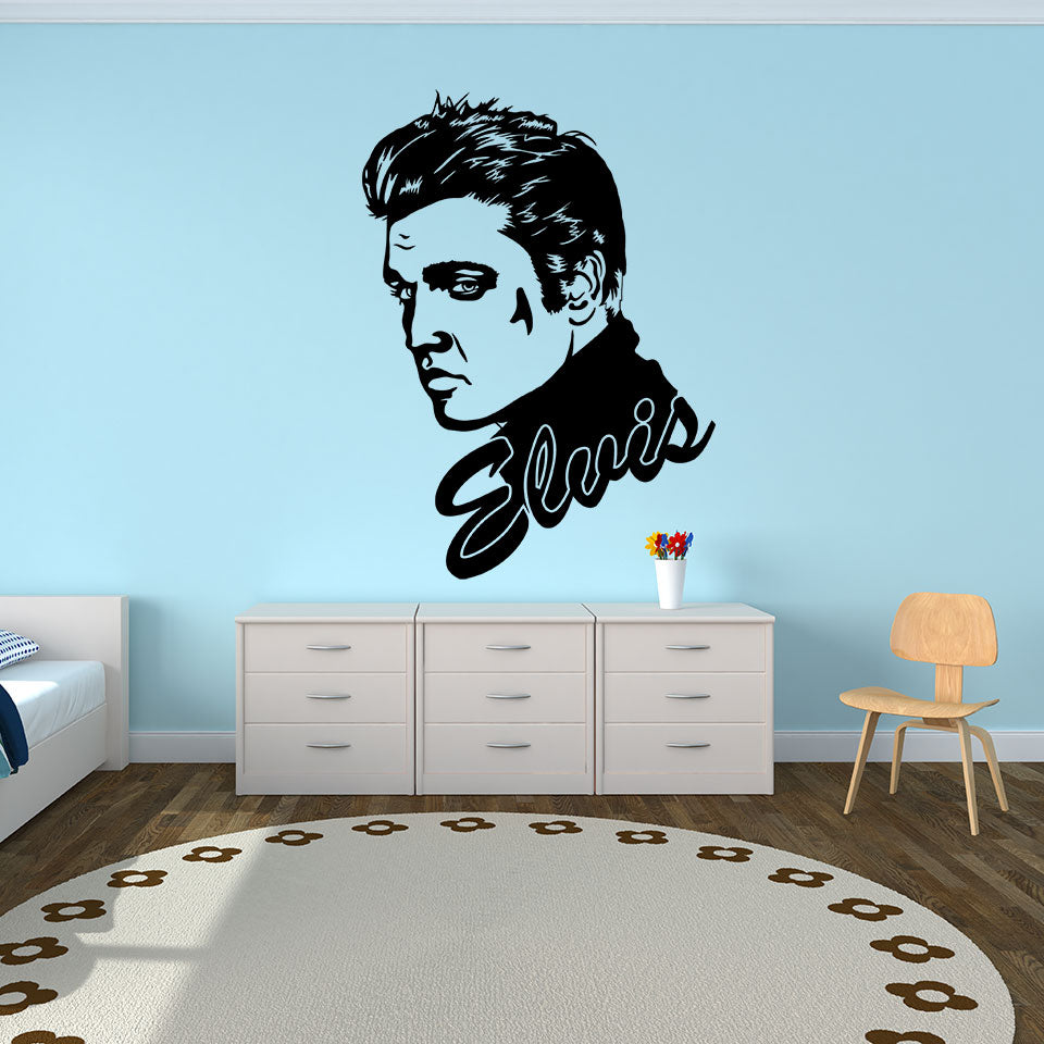 Elvis-Wall Decal