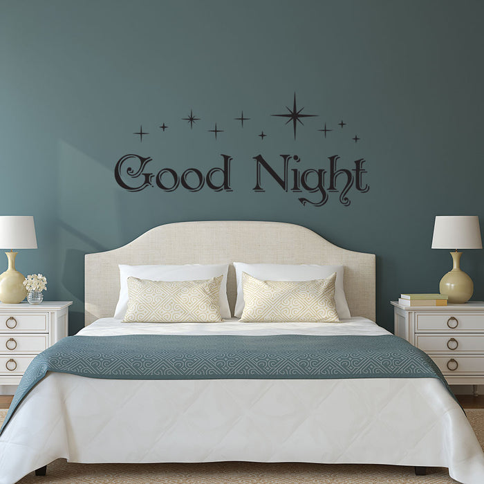 Good Night Wall Decal