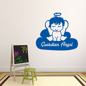 Guardian Angel-Wall Decals-Style and Apply
