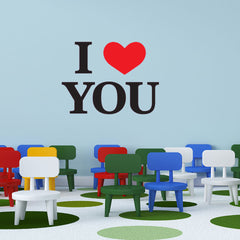 I Love You-Wall Decal Sticker
