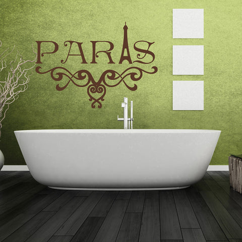 Paris Deco Wall Decal