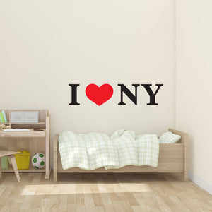 I Love NY-Wall Decal
