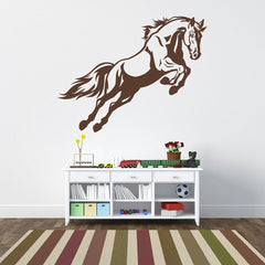 Jumping Horse II Wall Decal