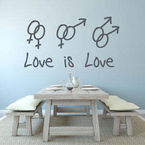 Love is Love Decal-Wall Decal