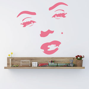 Marilyn Monroe-Wall Decal