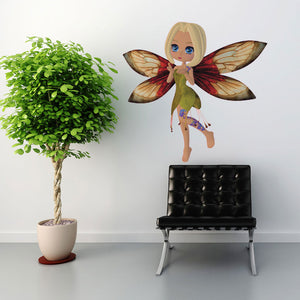 Meadow Fairy-Wall Decal Stickers-Style and Apply